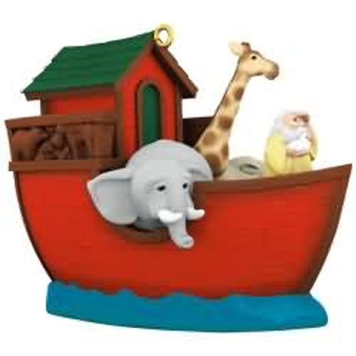 2017 Noah's Ark Hallmark ornament - QGO1322
