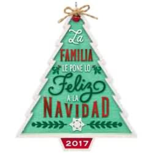 2017 Nuestra Familia...Nuestra Navidad Hallmark ornament - QSM7822