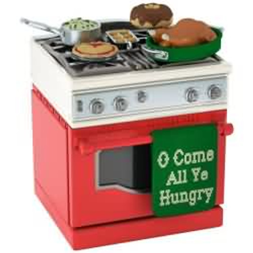 2017 O Come All Ye Hungry Hallmark ornament - QGO1782