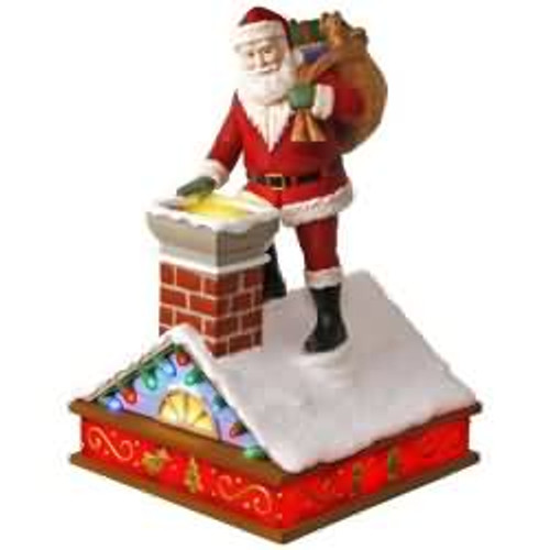 2017 Once Upon a Christmas #7 - Up on the Housetop Hallmark ornament - QX9372