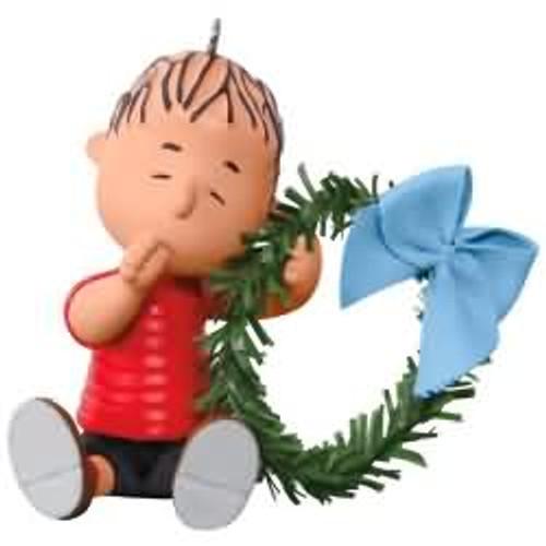 2017 Peanuts - A Comfy Christmas for Linus Hallmark ornament - QXI3292