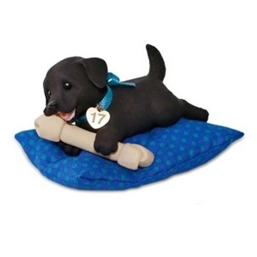2017 Playful Puppy Surprise Hallmark ornament - QGO1742