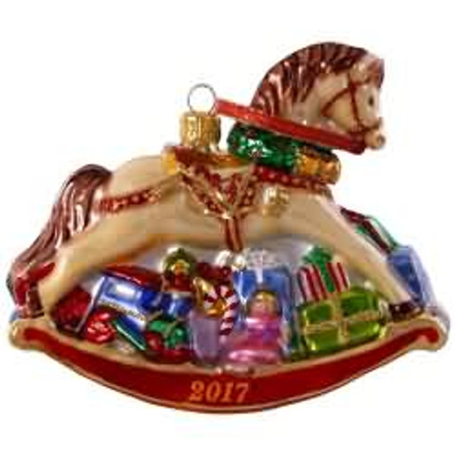 2017 Regal Rocking Horse Hallmark ornament - QK1385