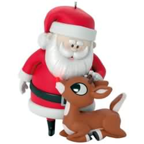 2017 Rudolph - Won't You Guide My Sleigh Tonight Hallmark ornament - QXI3612