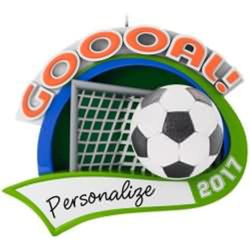 2017 Soccer Star Hallmark ornament - QGO1615