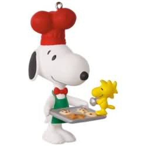 2017 Spotlight on Snoopy #20 - Baker Snoopy Hallmark ornament - QX9435