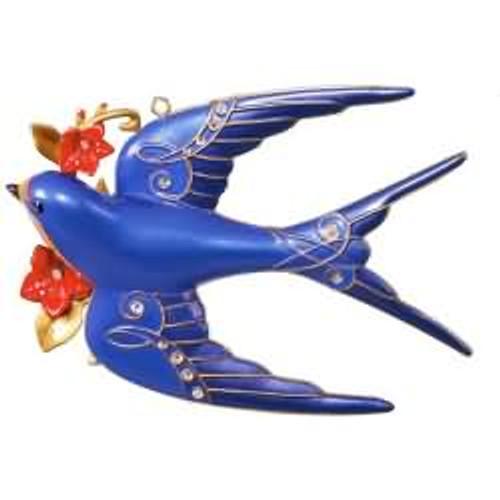 2017 Stunning Swallow Hallmark ornament - QK1435