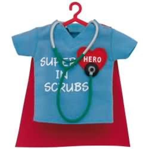 2017 Superhero in Scrubs Hallmark ornament - QGO1755