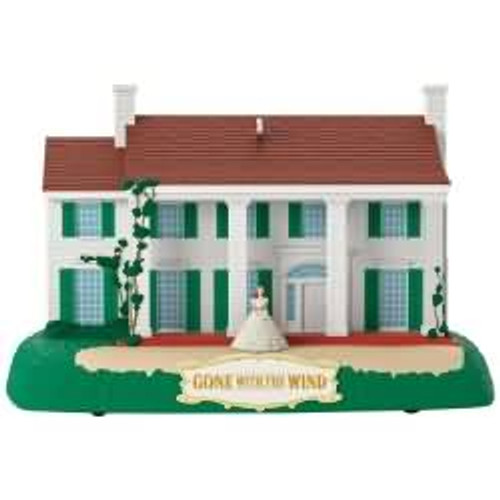 2017 Tara - Gone With The Wind Hallmark ornament - QXI3042