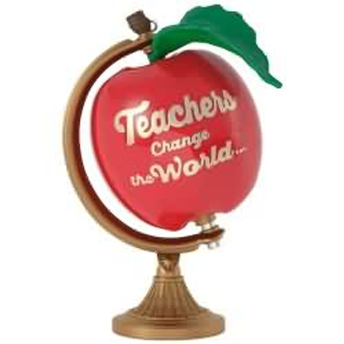 2017 Teachers Change the World Hallmark ornament - QGO1762