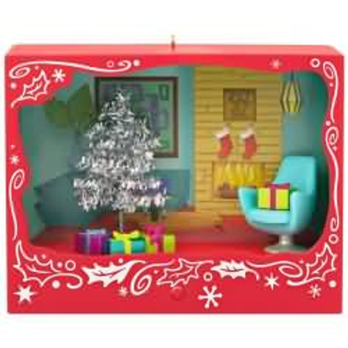 2017 Tinseltime Christmas Hallmark ornament - QGO1835