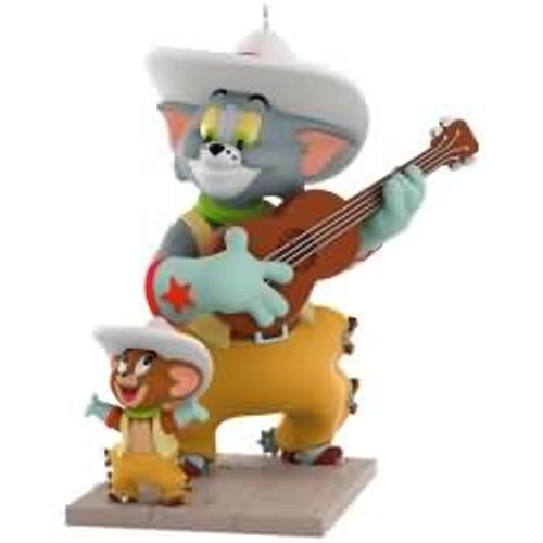 2017 Tom and Jerry - Texas Tom Hallmark ornament - QXI2995