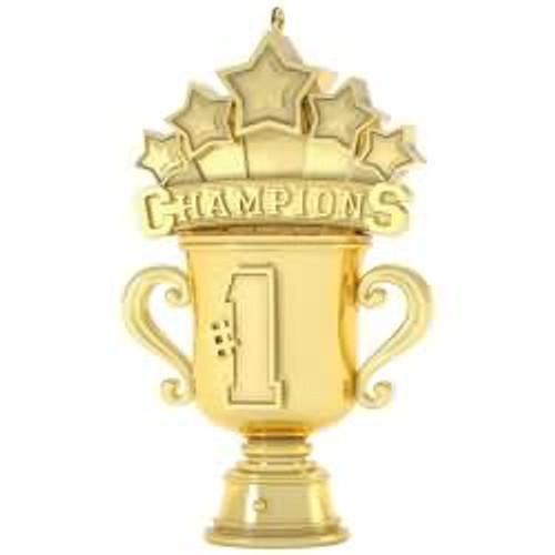2017 We Are The Champions Hallmark ornament - QGO1032