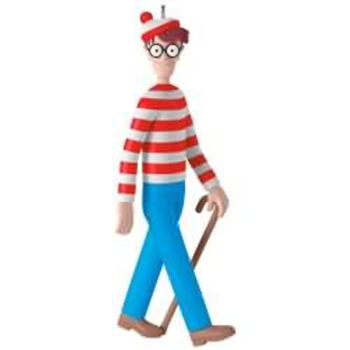 2017 Where's Waldo? Hallmark ornament - QXI2412