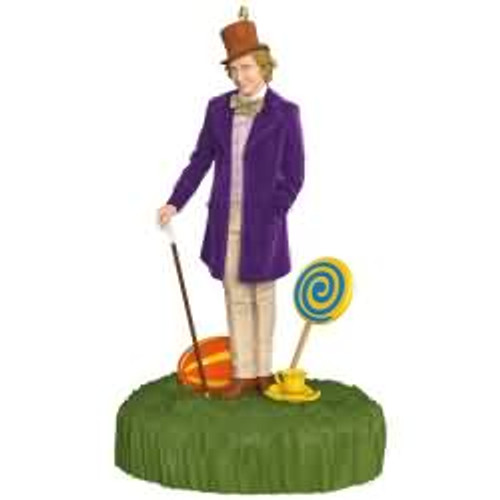2017 Willy Wonka and the Chocolate Factory Hallmark ornament - QXI2985