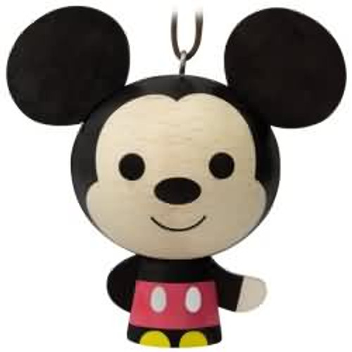2017 Wooden - Mickey Hallmark ornament - QKK3543