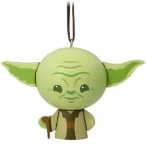 2017 Wooden - Yoda Hallmark ornament - QKK3533