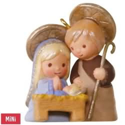 2017 Li'l Holy Family Hallmark ornament