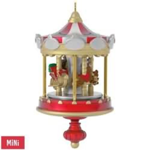 2017 Christmas Carousel #1 Hallmark ornament