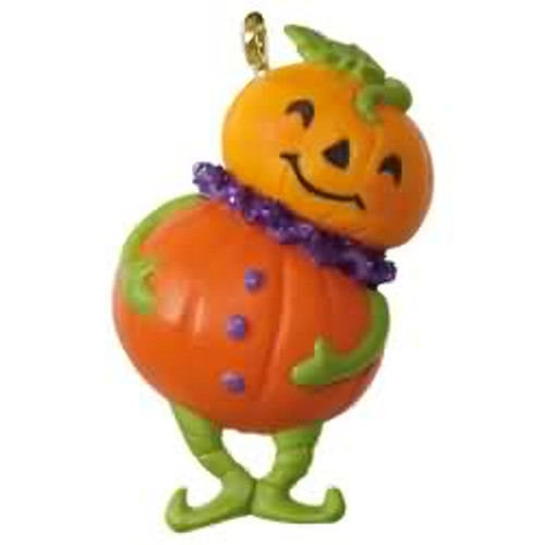 2017 Halloween - Pint Sized Pumpkin Hallmark ornament