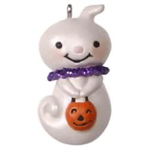 2017 Halloween - Teensy-weensy Ghost Hallmark ornament