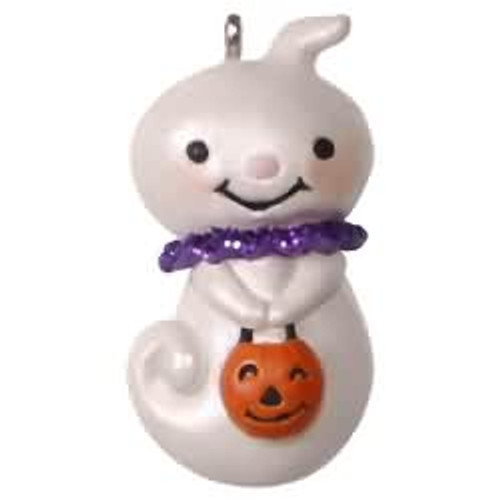 2017 Halloween - Teensy-weensy Ghost Hallmark ornament