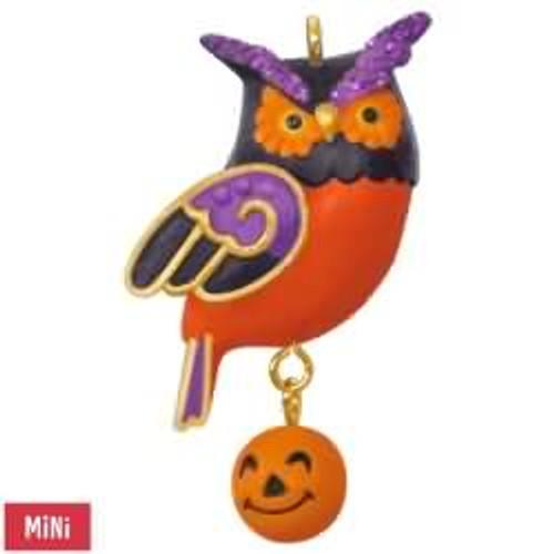 2017 Halloween - Wee Little Owl Hallmark ornament