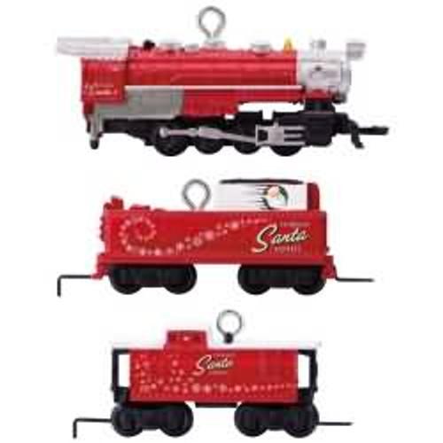 2017 Lionel Toymaker Santa Express - Miniature Hallmark ornament