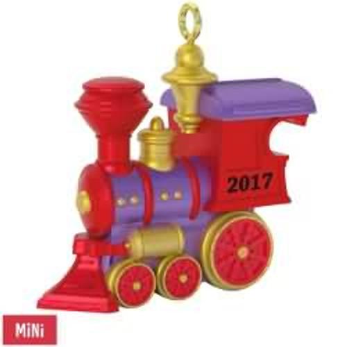 2017 Teeny Toy Train Hallmark ornament