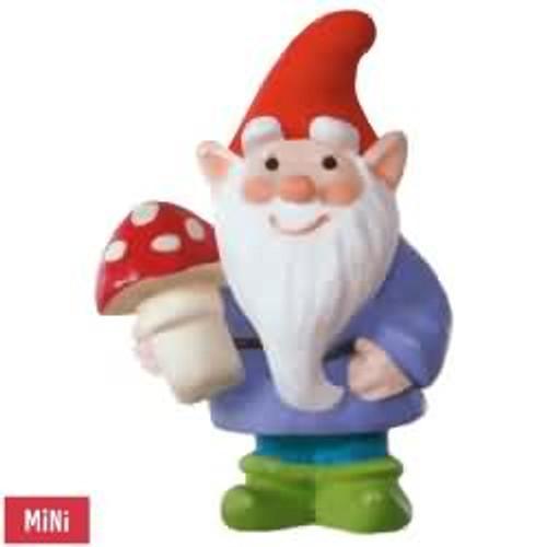 2017 Wee Little Gnome Hallmark ornament