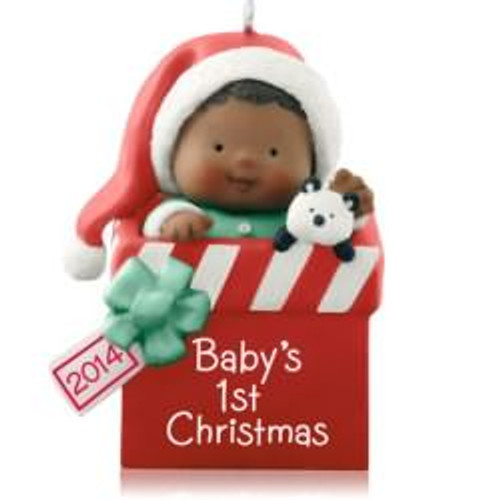 2014 Babys 1st Christmas - African American