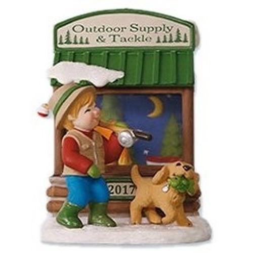 2017 Christmas Windows #15 - Tackle Store (QXC5015)