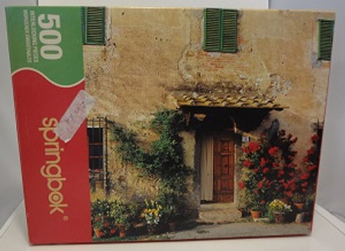 Doorway to Tuscany - 500 Pieces - Puzzle