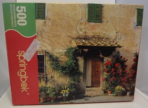 Doorway to Tuscany - 500 Pieces - Puzzle