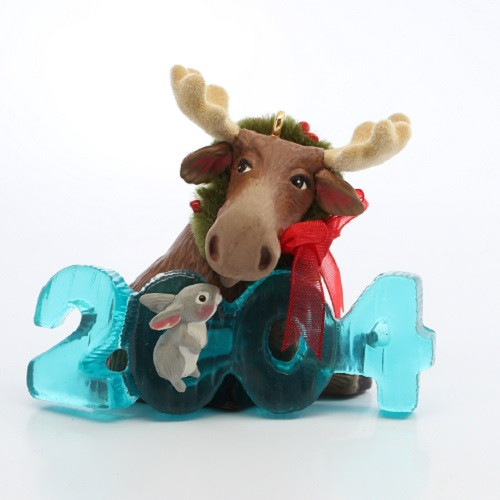 2004 Cool Decade #5 - Moose  Colorway Hallmark ornament