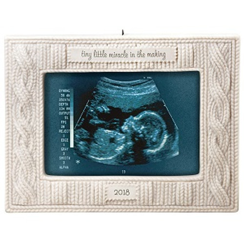 2018 Miracle in the Making Sonogram Photo Holder