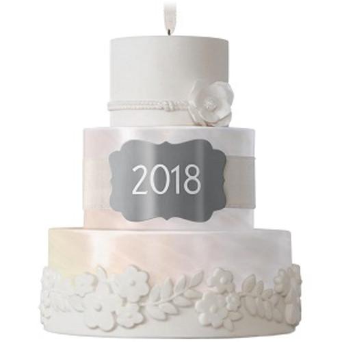 2018 Wedding - New Life Together Cake