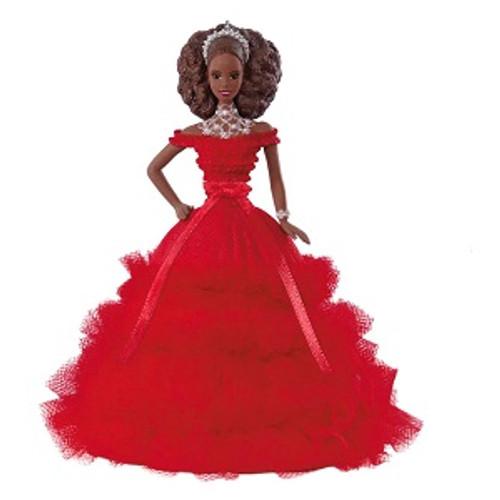 2018 Barbie - Holiday Barbie #4 - African American