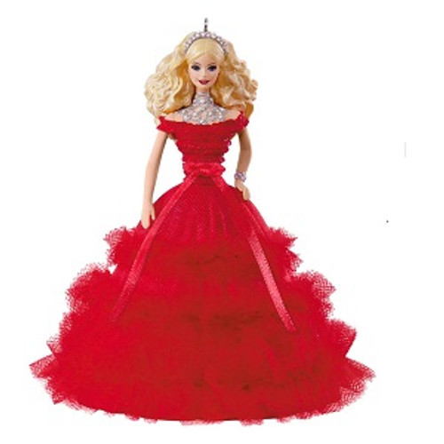 2018 Barbie - Holiday Barbie #4 - Caucasian