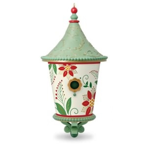 2018 Beautiful Birdhouse #3F (QX9463)