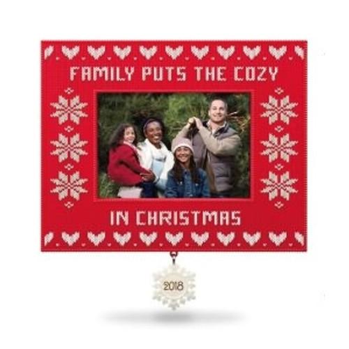 2018 Cozy Family Christmas - Our Family Photo