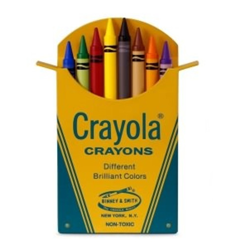 2018 Crayola - Classic Box of 8