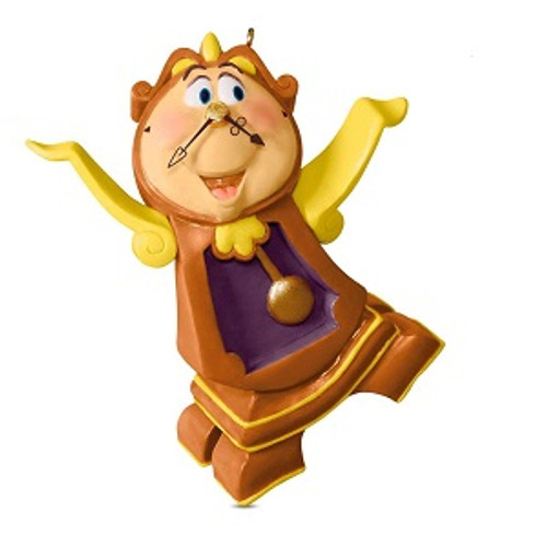 2018 Disney - Cogsworth - Ltd - Beauty and the Beast (QXE6236)