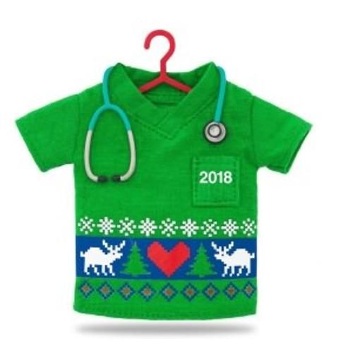 2018 Happy Holiday Scrubs