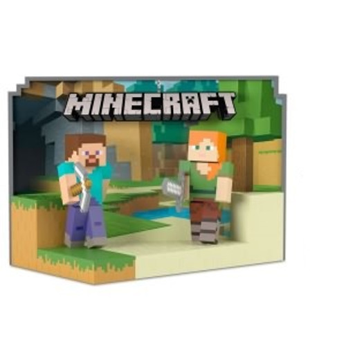 2018 Minecraft - Steve and Alex