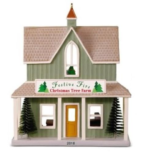 2018 Nostalgic Houses and Shops #35 - Festive Firs Christmas Tree Farm