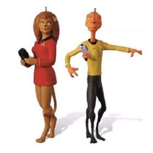 2018 Star Trek - Lieutenant Arex & Lieutenant M'Ress - Comic Con