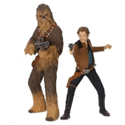 2018 Star Wars - Han Solo and Chewbacca (set of 2)