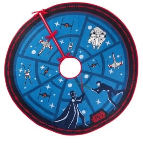 2018 Star Wars - The Force is Strong Tree Skirt