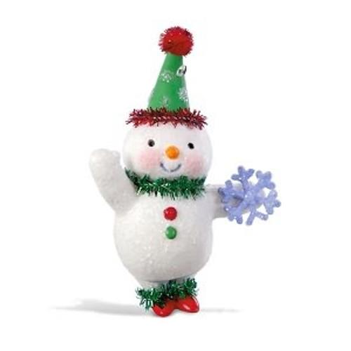 2018 Vintage Snowman